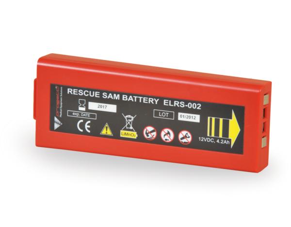 Batteria defibrillatore DAE Rescue SAM di lunga durata
