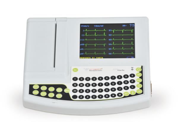 electrocardiographe 6 et 12 derivations EPG 6 View