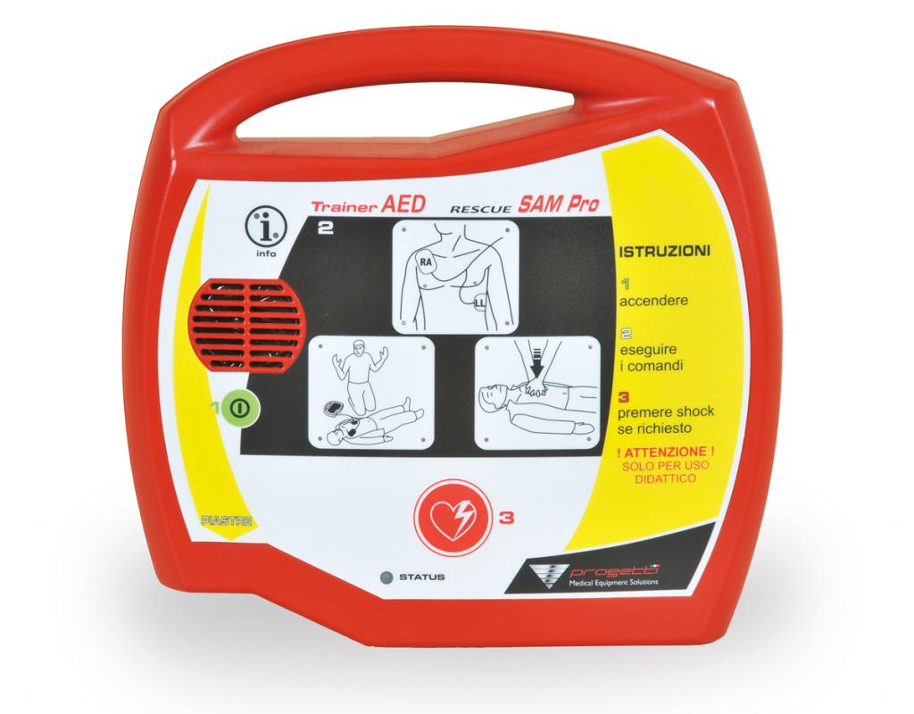 Defibrillatore trainer didattico Rescue sam pro