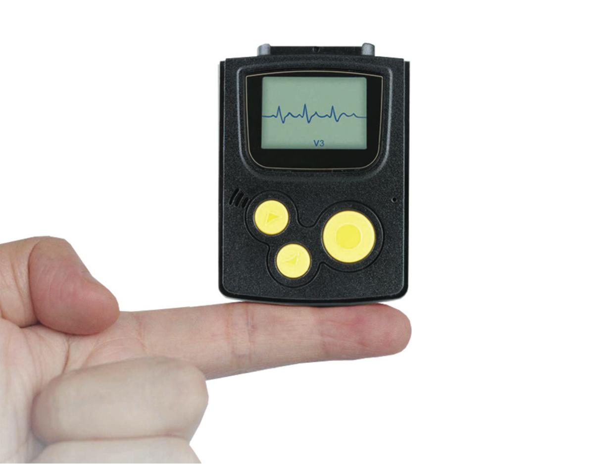 electrocardiographe portable holter ecg 3 fils. Black Bedroom Furniture Sets. Home Design Ideas