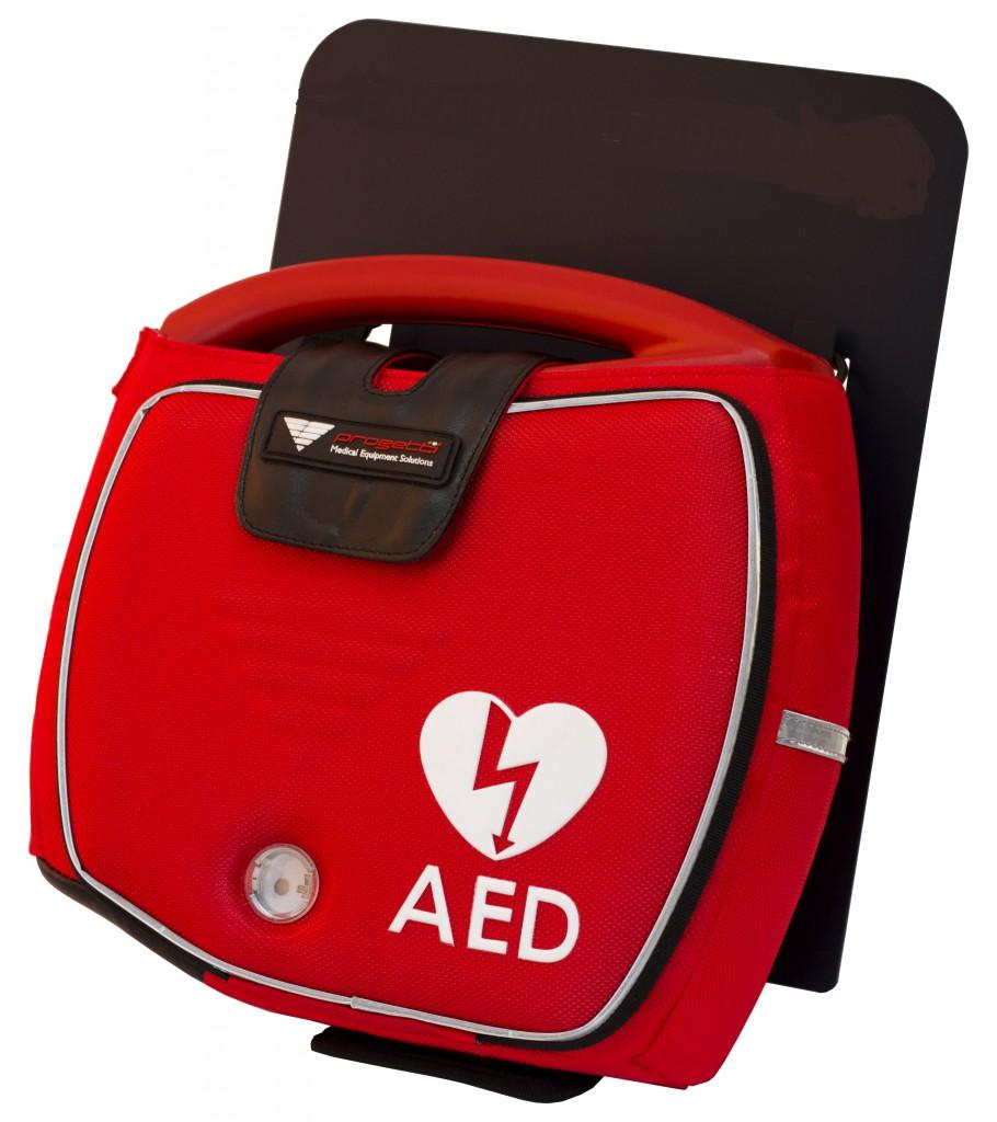 Staffa per fissaggio a parete defibrillatore DAE Rescue Sam