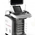 Ecografo PG SCAN Expert: secondo monitor operativo e carrello mobile
