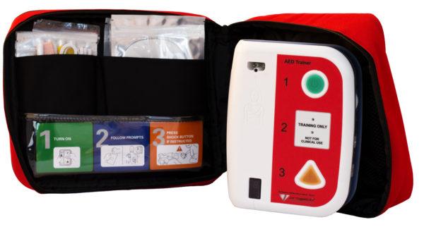 Defibrillatore trainer AED universale